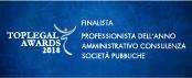 Finalista - Professionista dell'anno Amministrativo consulenza società pubbliche